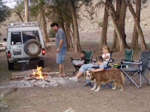 Murrumbidgee-Childowla Dog Friendly Camp Along River