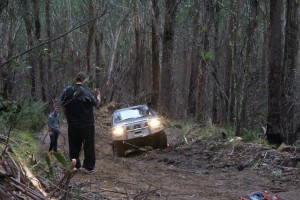 4WD trip - CMR Offroad Ironman4x4 Monster Winching Up