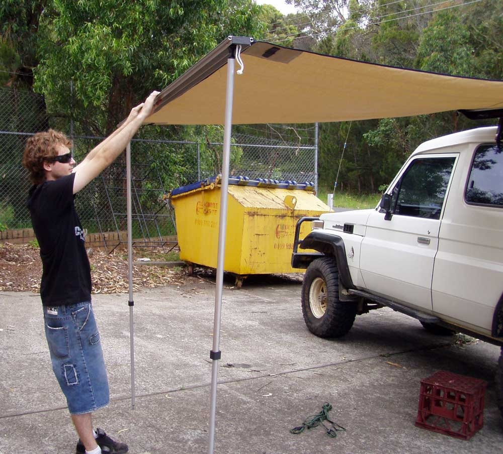 IRONMAN 4x4 INSTANT AWNING - 3 sizes - available from CMR ...