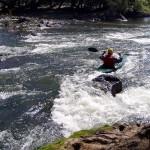 Kayaker on the Murrumbidgee River @ Childowla NSW