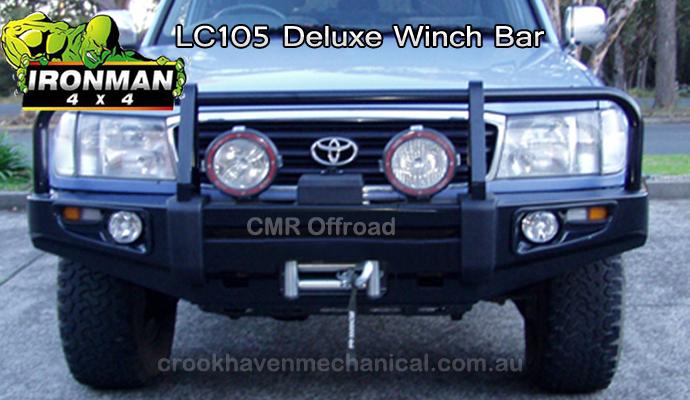 Ironman4x4 105LC Deluxe Bull bar