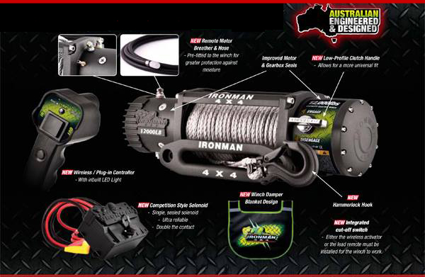 Ironman4x4 Monster Winch 9500lb From 795 999