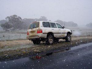 Snowing @ Ingebirah