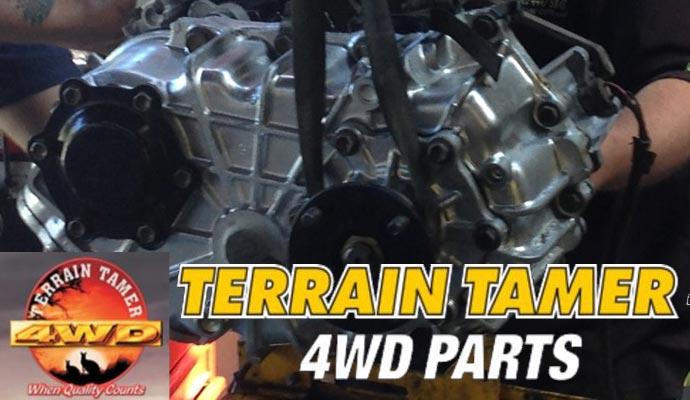 Terrain Tamer 4wd Parts