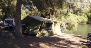 Camper Trailer Camping - Childowla NSW