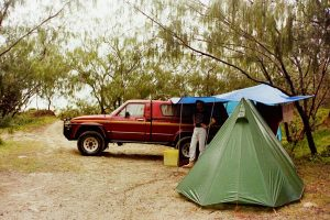 Fraser Island 80's speck camping