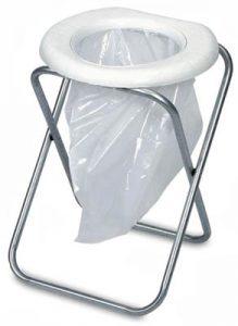 Worst Ever Portable Toilet
