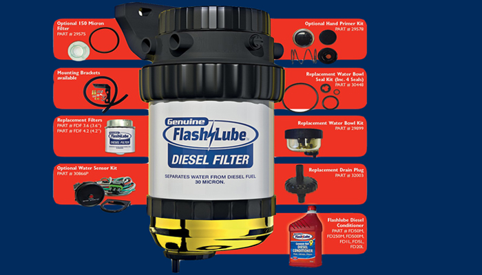 flashlube diesel filter