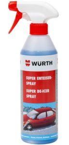 Wurth De-Icer Spray