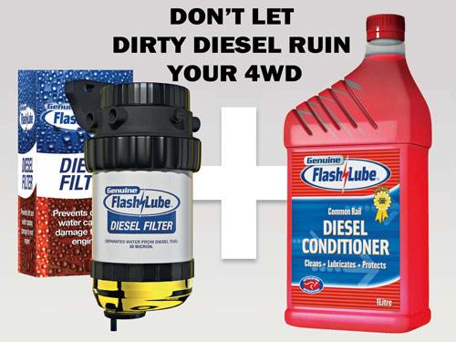 FLASHLUBE Diesel Filter - Water Seperator - 30micron Supply